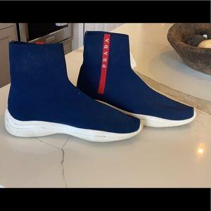 Prada knit sock shoes